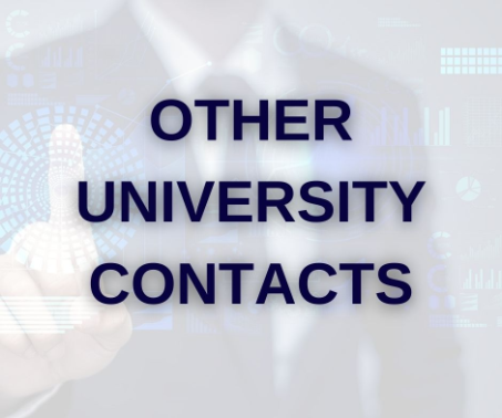 Contact us other internal UTAR contacts